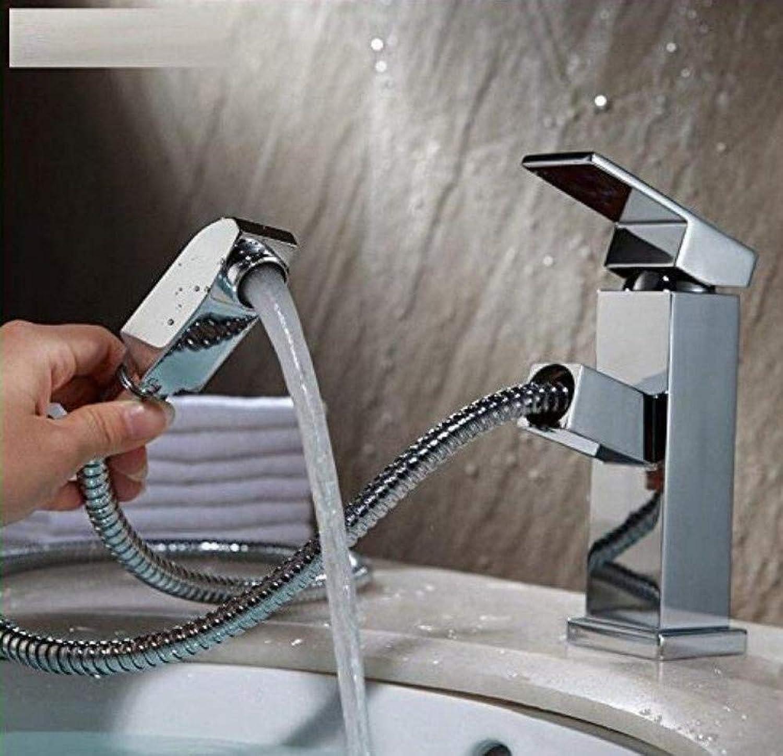 Retro Hahn-Küchen-Ausziehhahn-heies und kaltes Wasser-Mischbecken einfaches modernes