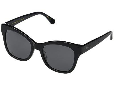 DIFF Eyewear Skylar (Black/Grey) Fashion Sunglasses
