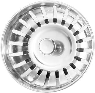 comprar comparacion Zerama 1pc / 4pcs de Acero Inoxidable Fregadero de la Cocina Tamiz Plug tapón del Filtro de residuos Tope de la Cubierta