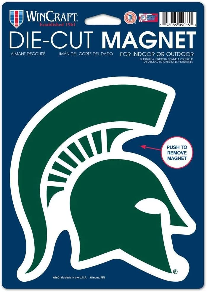 WinCraft Free shipping / New NCAA Michigan State University Die Cut 09015014 Logo Ma New mail order