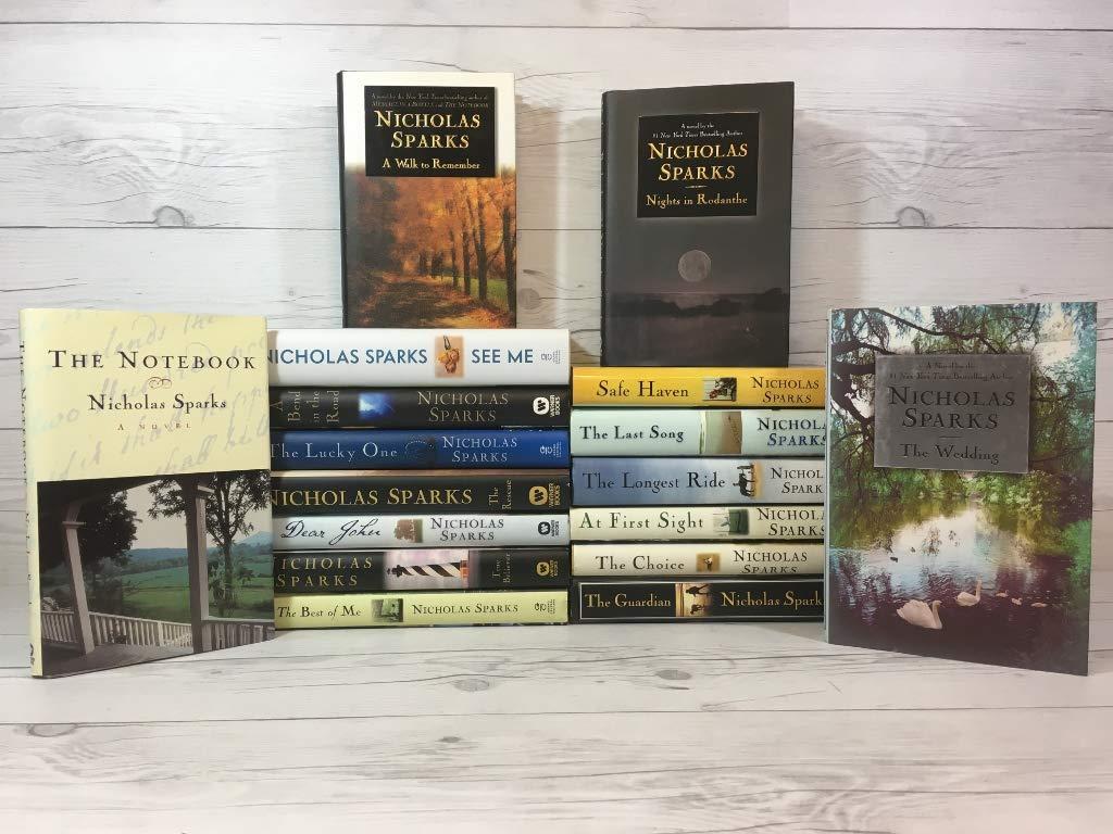 Nicholas Sparks Complete Works: 17 Book Set HARDCOVER