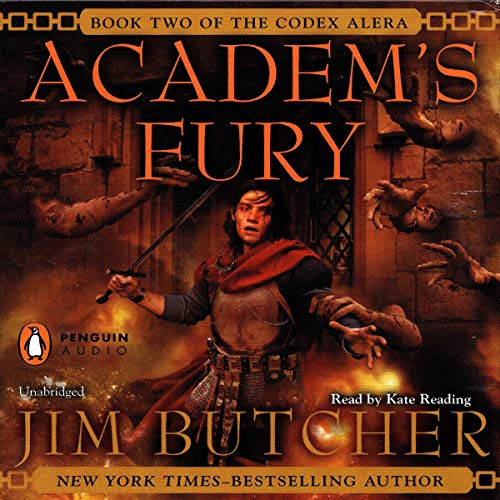 Academ's Fury audiobook cover art