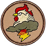 Funny Boy Scout Patches - F66 - The Thunder Chicken Patrol! 23812