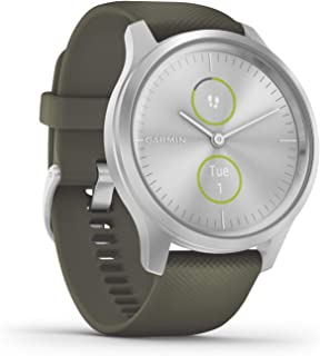 ساعة ذكية هايبرد مع عقارب ساعة حقيقية وشاشة لمس مخفية من جارمين فيفوموف 3S 010-02240-01