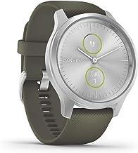 Garmin 010-02240-01 Vívomove Smartwatch, 0.8 Inch Kleurenscherm, 42Mm, Zilver-Kaki
