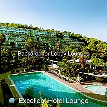 Backdrop for Lobby Lounges
