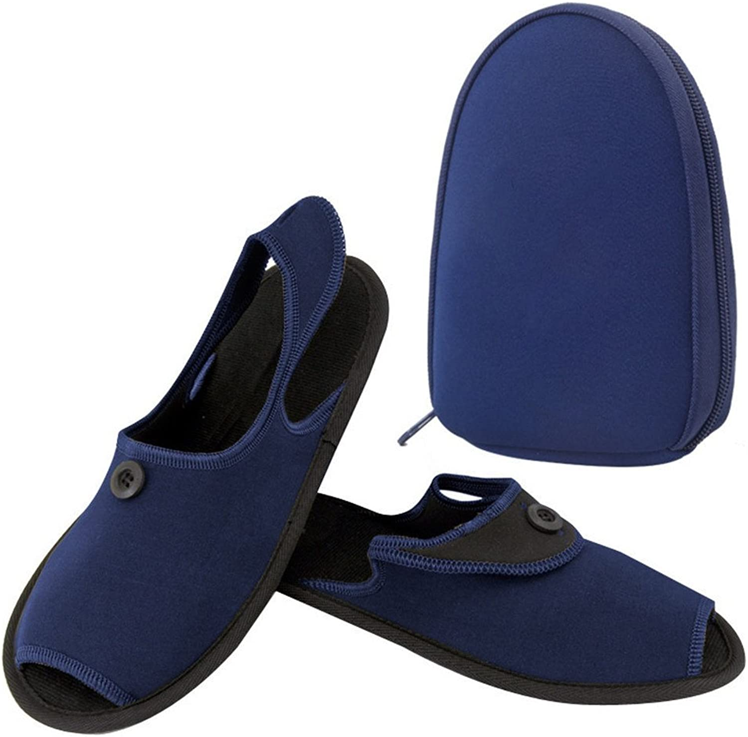Business Trip Folding Slippers Durable Non-Slip Comfort Slippers Hotel air Slippers