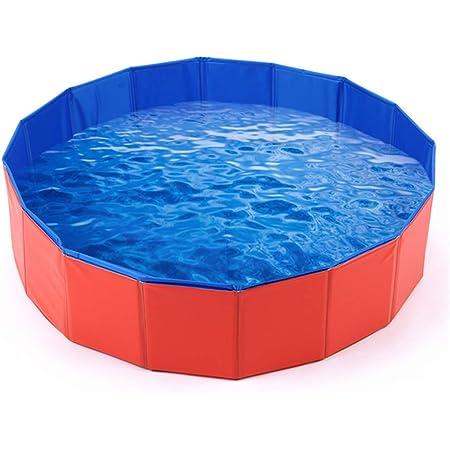 160 X 30cm Dasmarine PVC Pet Swimming Pool Portable Foldable Pool Dogs Cats Bathing Tub Bathtub Wash Tub Water Pond Pool