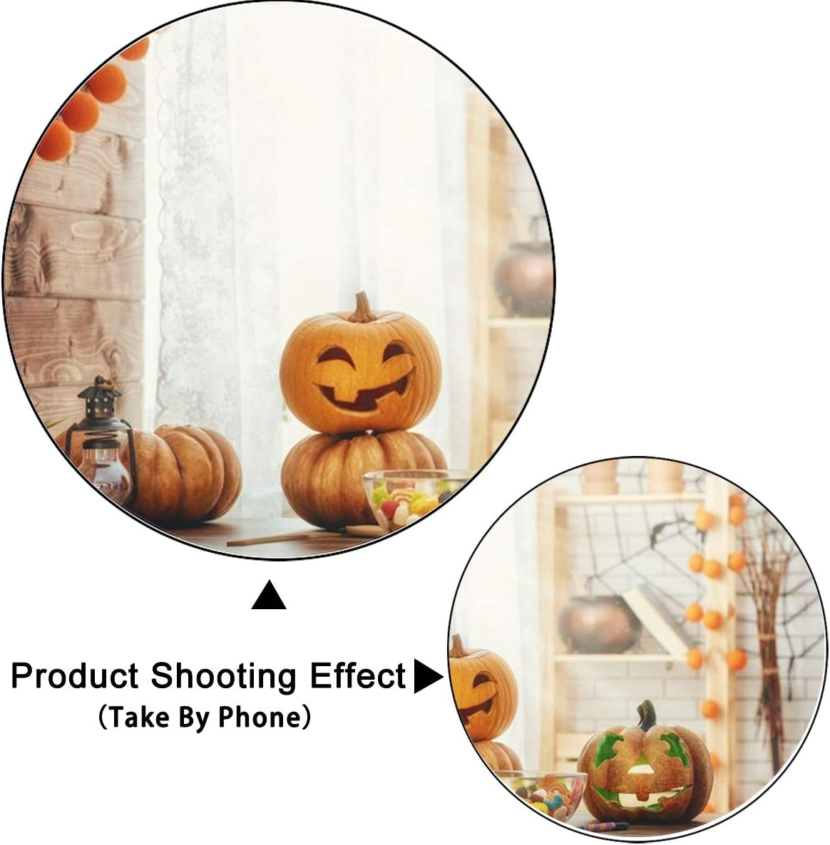 5x3ft,chy717 Levoo Flannel Pumpkin Background Banner Photography Studio Children Baby Birthday Family Party Halloween Holiday Celebration Photography Backdrop Home Decoration