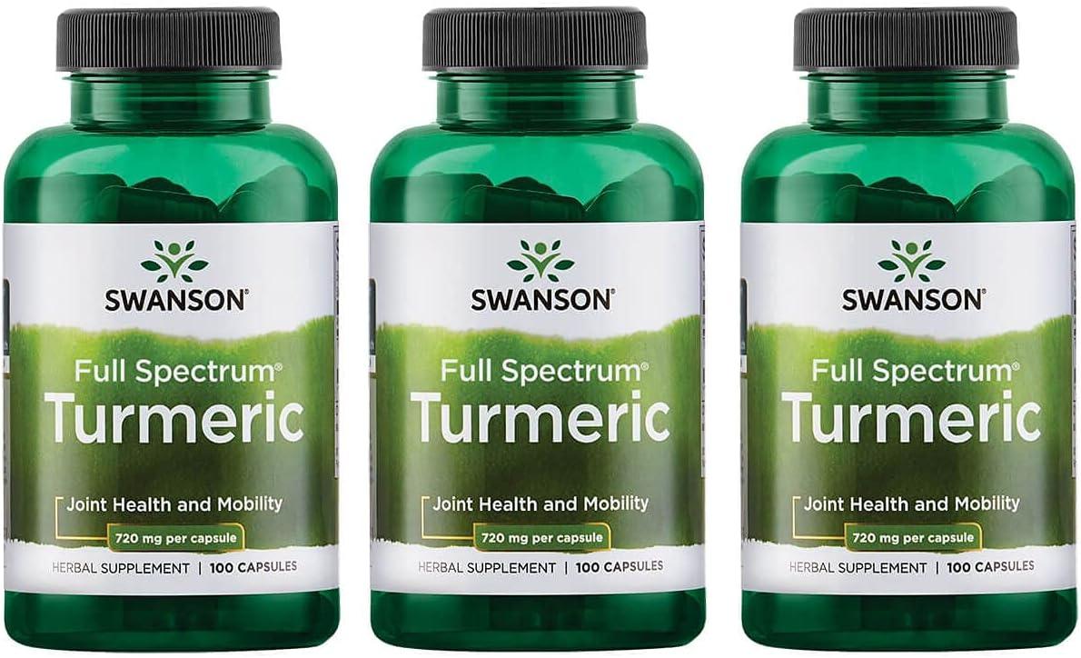 Swanson Turmeric Curcumin Antioxidant Cardiovascula Health Joint Max 64% free OFF