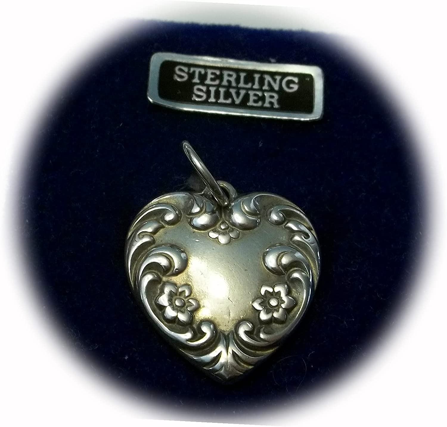 New Clearance Sterling Silver 21x19mm Very Pretty Year-end annual account Decorate Special price Large