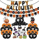 Bluelves Halloween Globos Decoración Set,...