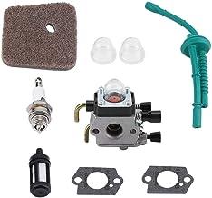 Förgasarset för STIHL FS55 FS55R FS55RC FS38 KM55 HL45 KM55R luftfilter bränsleförare kit ljuskit