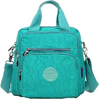 VVVSO Women's Waterproof Nylon Crossbody Shoulder Bag Durable Casual Backpack