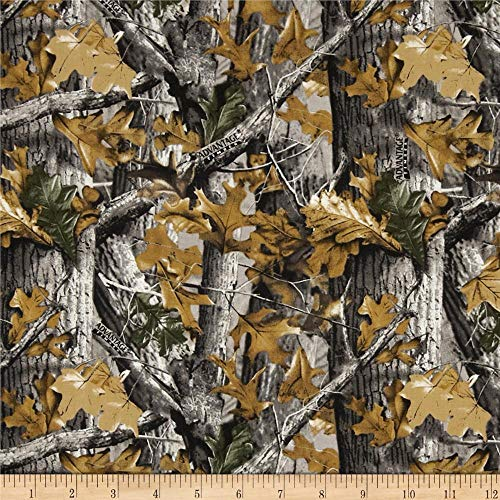 Sykel Enterprises Plain Realtree Allover Quilt Fabric by the Yard, Multi
