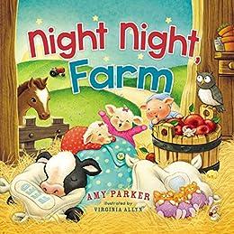 Night Night, Farm by [Amy Parker, Virginia Allyn]