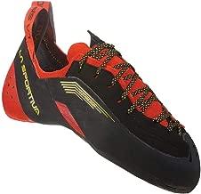 La Sportiva TESTAROSSA Climbing Shoe, Red/Black, 42