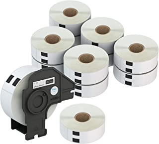 """Labelebal 1-1/7"""" x 3-1/2""""(29mm x 89mm) Direct Thermal Labels Compatible with Brother DK-1201 Shipping Mailing Postage Addr..."""