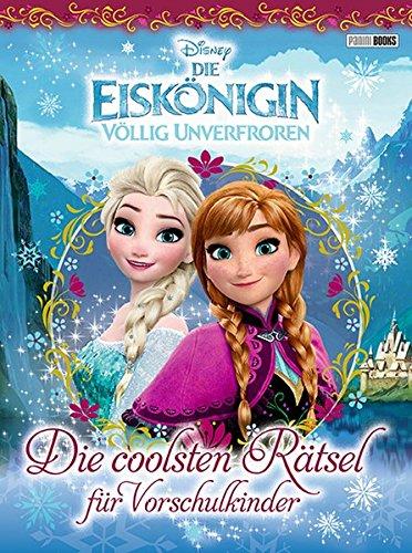 Disney Die Eiskönigin: Die coolsten Rätsel für Vorschulkinder