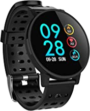 Bravetoshop Bluetooth Smartwatch with Heart Rate Monitor Fitness Watch for GPS,Activity Tracking,Sleep Monitoring,Sport Watch Fitness Tracker