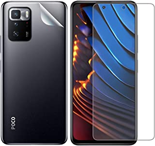 Poco x3 GT matte screen protector and back screen
