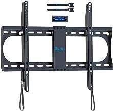 Support de Montage Mural Fixe pour téléviseur de RENTLIV avec la Ligne à Profil Bas pour la Plupart des téléviseurs 37-70 ...
