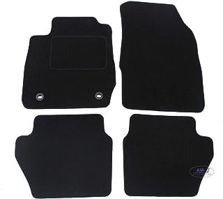 kh Teile Tapis de Sol en Velours pour Ford Kuga II Noir /à partir de 2013