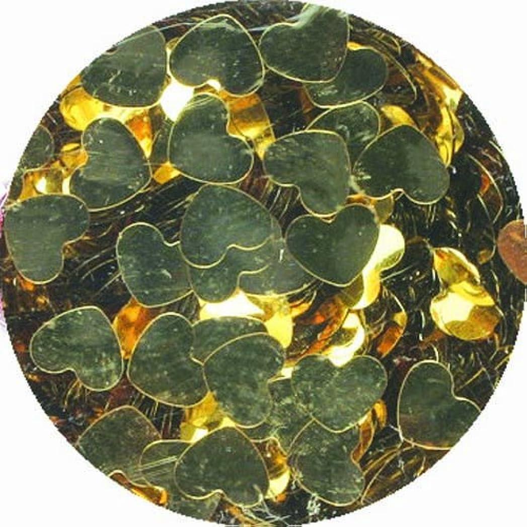 ラップシャーク称賛ビューティーネイラー ネイル用パウダー 黒崎えり子 ジュエリーコレクション ライトゴールドハート