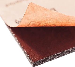 Noico Rojo 8 mm 0.9 m² Insonorizante Termico para Coche, Aislamiento acústico, material de células cerradas autoadhesivo (...