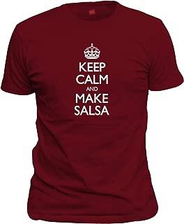 Men's Keep Calm and Make Salsa T-Shirt