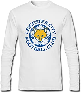 XMAJ Man's Leicester City FC The Foxes T-Shirt White