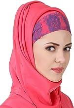 MyBatua Sweet Pink Crepe Muñeca Hijab, Al-Amira, Bufandas De Moda, Ropa Modesa, Islam Dua HJ-068