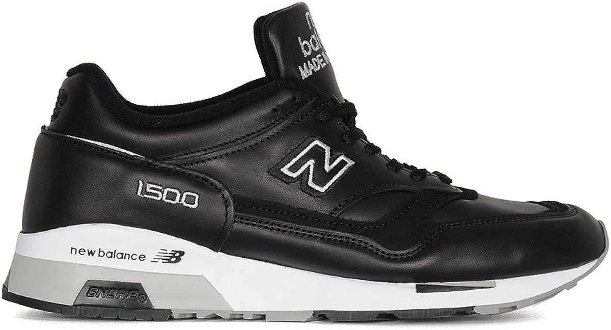 New Balance Sneakers Uomo M1500bk Pelle Nero : Amazon.it: Moda