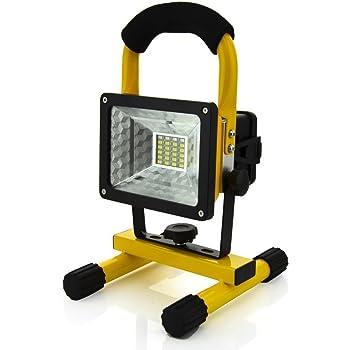 Super Lumineuse Lampe de Travail Rechargeable,DINOWIN 30W