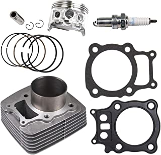NICHE Cylinder Piston Gasket Top End Kit For Honda 2000-2006 Rancher TRX350 12100-HN5-670 13010-HN5-671