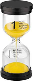 KSMA Sand Timer 1 Minute Hourglass Timer,Colorful Sandglass Timer for Kids,Classroom,Kitchen,Games,Toothbrush Timer