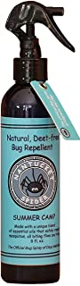 Nantucket Spider Summer Camp Best Natural Bug Repellent Spray for Kids 8 OUNCE Essential Oil Natural Insect Spray Repellent Children Toddlers Camping Bug Spray Mosquito Repellent No DEET No Citronella