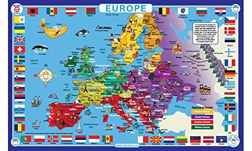 mapa europa fabricante Tot Talk
