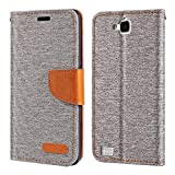 Huawei Honor 3C Case, Oxford Leather Wallet Case with Soft