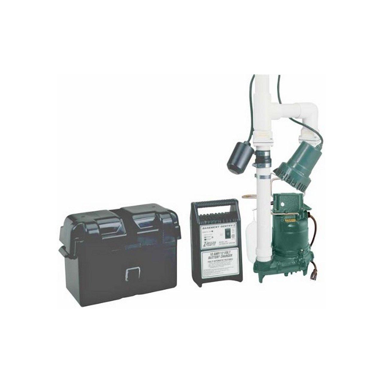Zoeller 507 0005 Zoeller 507 0005 Basement Sentry Battery Backup Pump