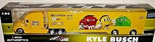 NASCAR Authentics 2017 Edition Kyle Busch MM's 1/64 Scale Hauler Trailer Tractor Semi Rig Transporter Truck Diecast