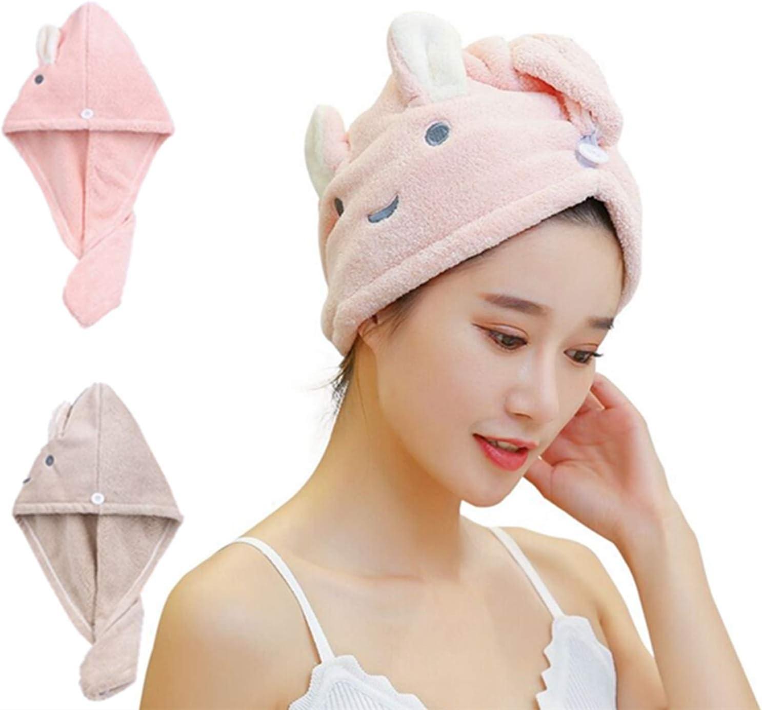 Microfiber Hair Towels Genuine Super Genuine Absorbent Drying Towel Turban