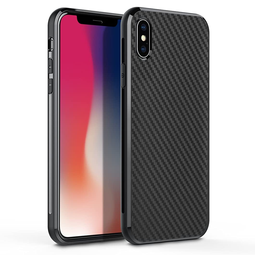iPhone X Case, iPhone Xs Case, Xawy Slim Fit Shell Hard Soft Feeling Full Protective Anti-Scratch&Fingerprint Cover Case Compatible with iPhone X (Black) wkrkowa93