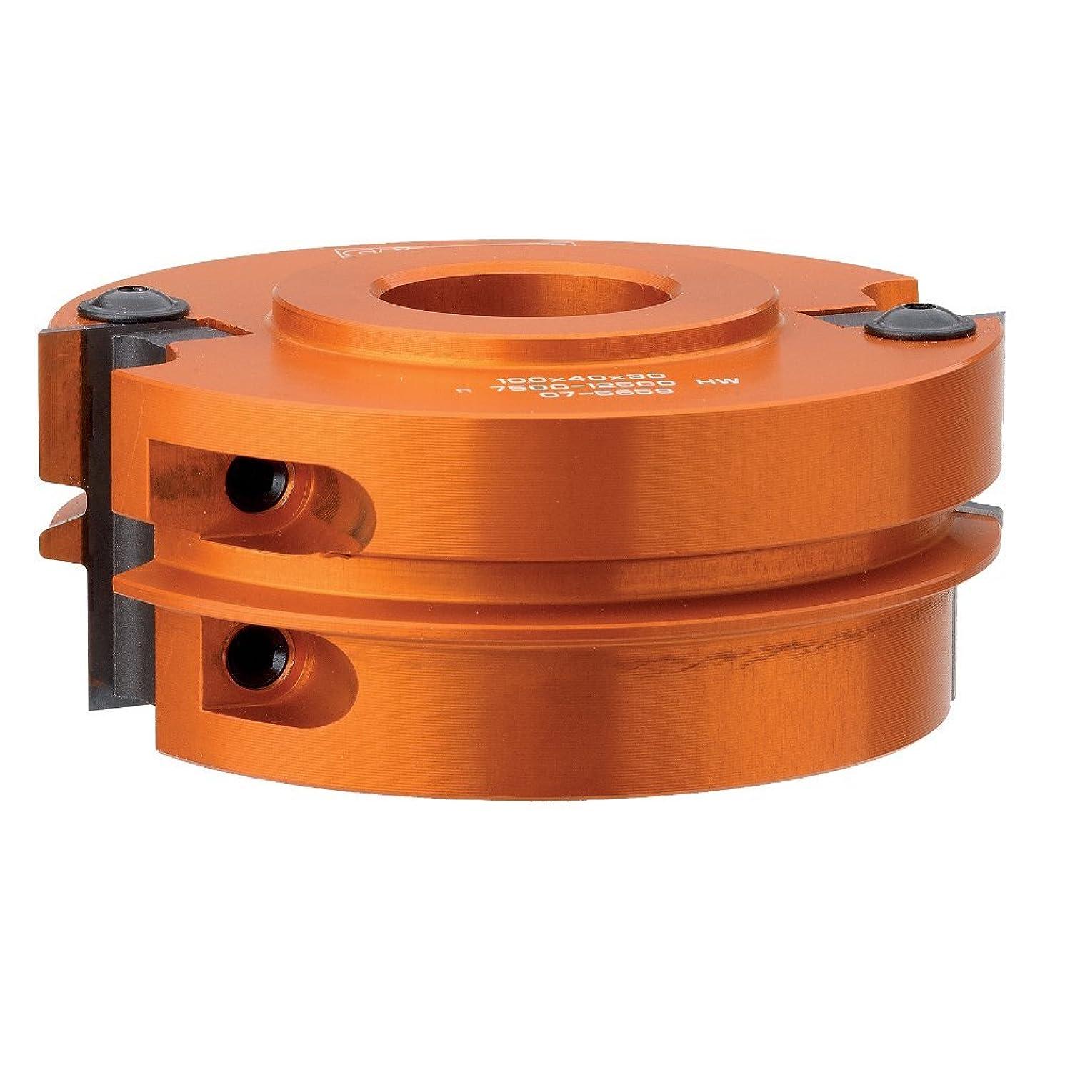 CMT 694.009.31 Reverse Glue Joint Cutter Head, 4-Inch Diameter, 1-1/4-Inch Bore