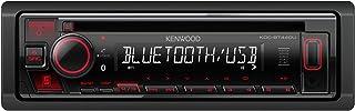 Autorradio KENWOOD KDC-BT440U Iluminación Roja, Receptor CD, USB