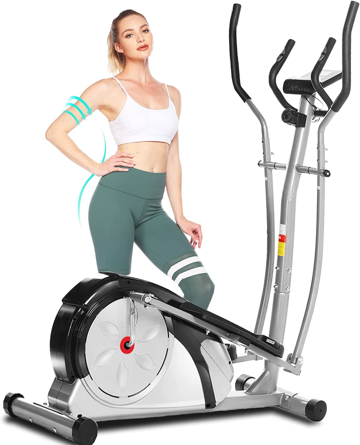 ANCHEER Elliptical In Max 74% OFF stock Machine for Home Use Magnetic Exer Ellptical