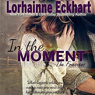 In the Moment audiobook cover art