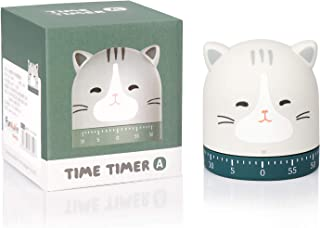 Cehim 60-Minute Wind Up Dial 360° Rotating Kitchen Timer Cute, No Batteries 100% Mechanical Classroom Alarm Countdown, Egg...