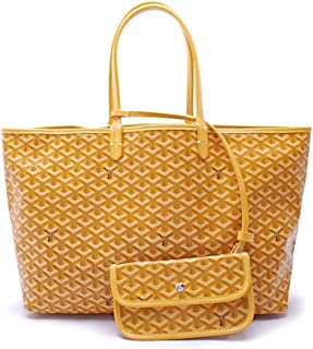 2-piece Set Classic Pu Leather Shopping Bags Women`s Casual Totes Bag, Large Capacity Elegant Women Shoulder Bag Handbags-yellow 22x6x12inch
