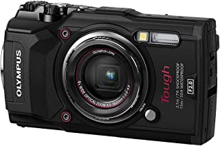 Olympus TG-5 Waterproof Camera with 3-Inch LCD, Black